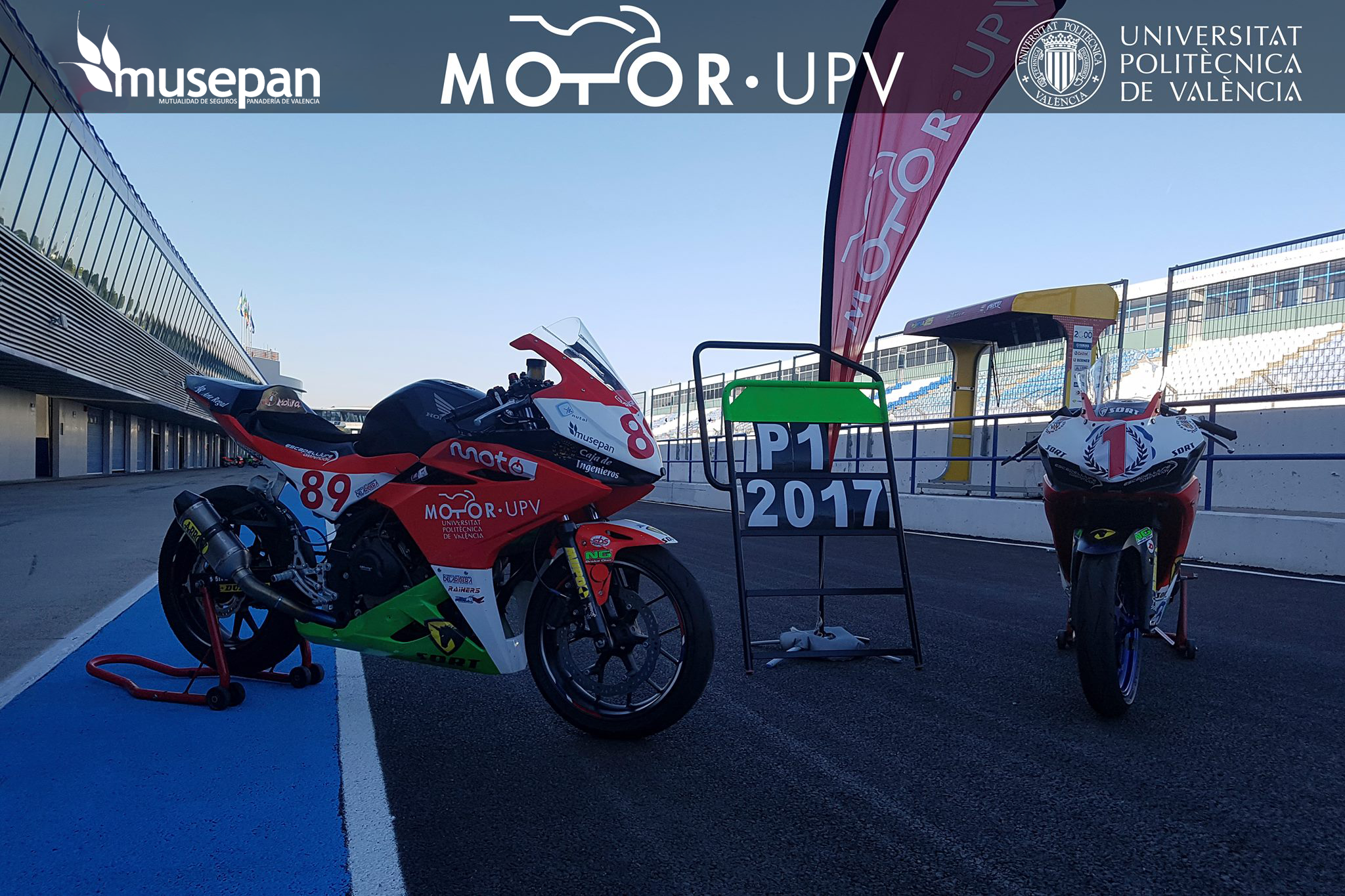 Motor UPV - Musepan. Campeones España Velocidad 2017