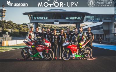 MotoR-UPV y Musepan Campeones de España Velocidad 2017