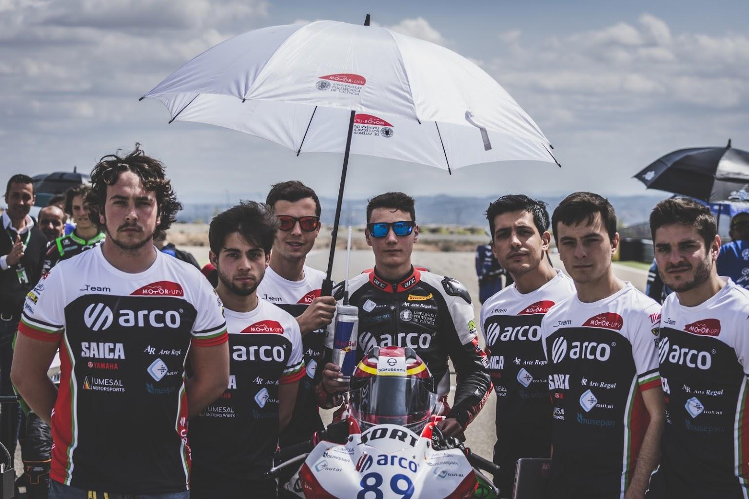 MotoR-UPV en SBK de Aragón - Patrocinador Musepan