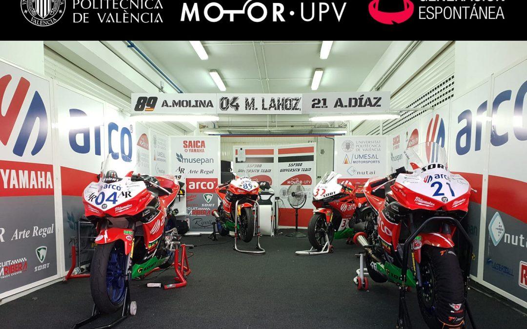 Corremos en casa, equipo ARCO-MotoR UPV Team Musepan