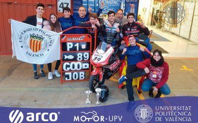 MotoR UPV School Team, Campeones Nacionales de Universidades 2019