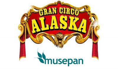 Musepan invitó a numerosos amigos a disfrutar del gran espectáculo del Circo Alaska