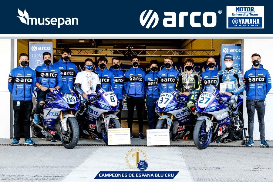 Musepan – Campeones de España Yamaha Challenge 2020